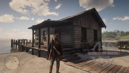 All huts in RDR2