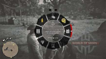 Select camera in RDR 2