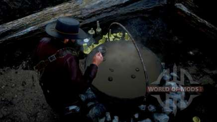 Witch's Cauldron in RDR 2