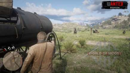 Tank Mission in RDR 2