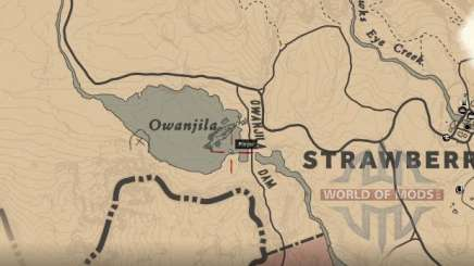 Where to find Smallmouth perch in RDR 2