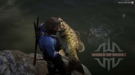 Legendary Smallmouth bass in RDR 2