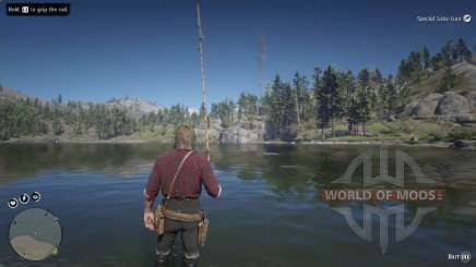 Smallmouth bass Fishing in RDR 2
