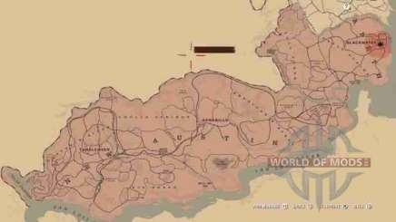 Map in RDR 2