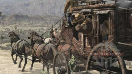 Stagecoach in RDR 2