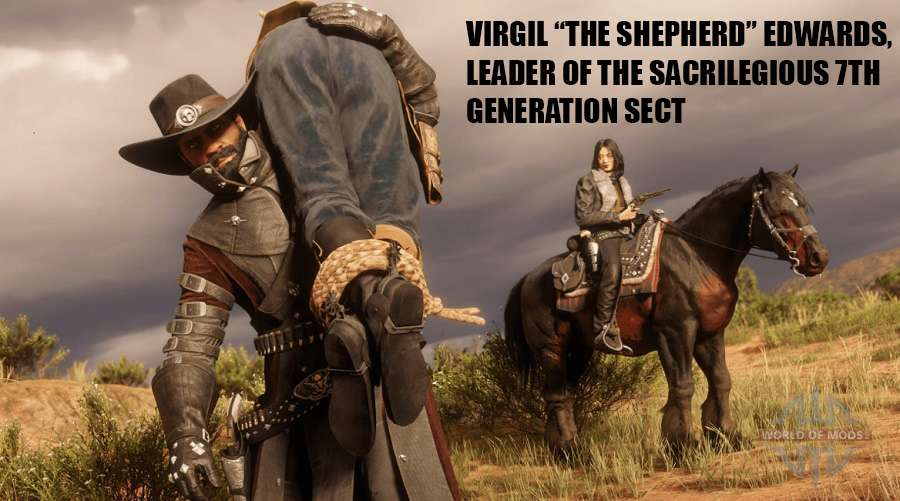 "Virgil ""The Shepherd"" Edwards in Red Dead Online"