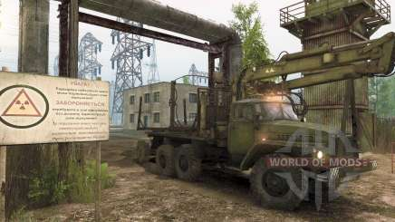 Spintires: missions about Chernobyl and forest theft
