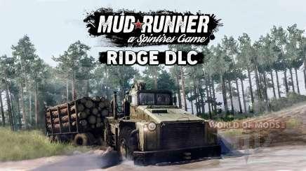MudRunner released The Ridge free add-on