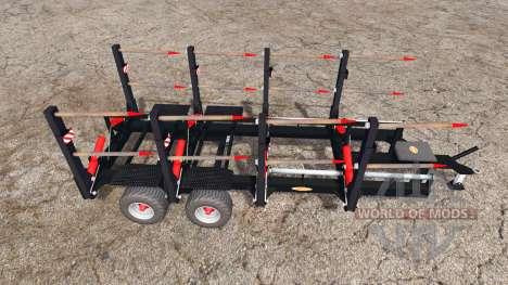 Ritchie bale trailer for Farming Simulator 2015