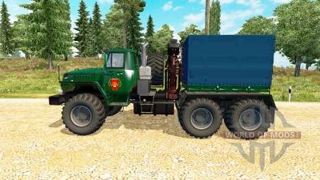 Ural 43202 v3.4 for Euro Truck Simulator 2