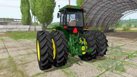 John Deere 4760 for Farming Simulator 2017
