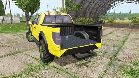 Ford F-150 SVT Raptor for Farming Simulator 2017