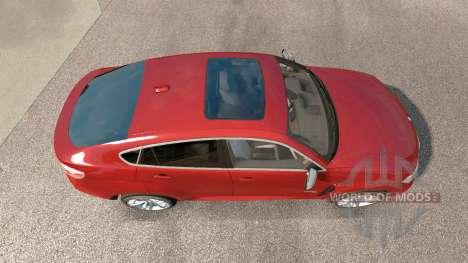 BMW X6 M50d (F16) v3.0 for Euro Truck Simulator 2