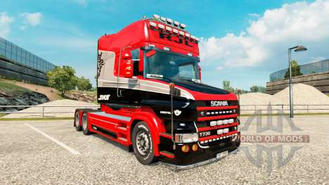 Stiholt skin for truck Scania T-series for Euro Truck Simulator 2