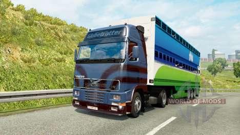 Truck traffic pack v2.2 for Euro Truck Simulator 2