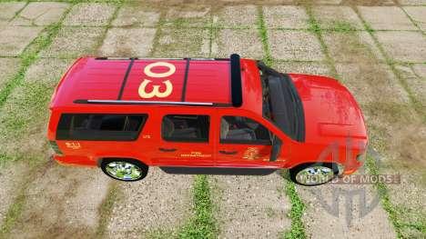 Chevrolet Suburban fire department for Farming Simulator 2017