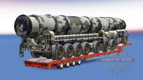 Military cargo pack v1.7.1 for Euro Truck Simulator 2