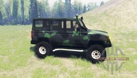 UAZ 3172 Spy v3.0 for Spin Tires
