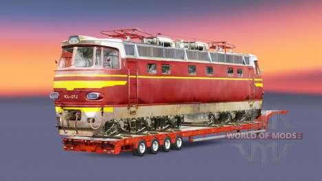 Railway cargo pack v1.7.1 for Euro Truck Simulator 2
