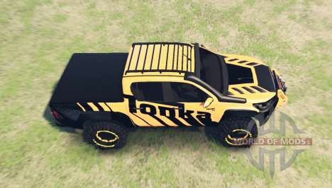 Toyota Hilux Tonka Concept 2017 for Spin Tires