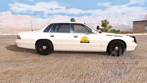 Gavril Grand Marshall utah highway patrol for BeamNG Drive