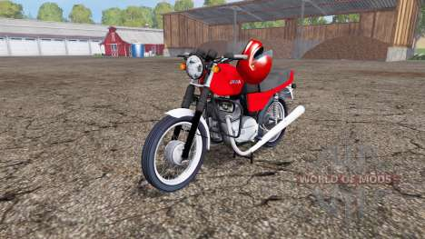 Jawa 350 for Farming Simulator 2015