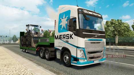 Painted truck traffic pack v2.2.1 for Euro Truck Simulator 2
