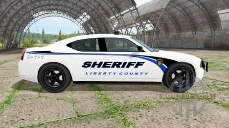 Dodge Charger Sheriff for Farming Simulator 2017