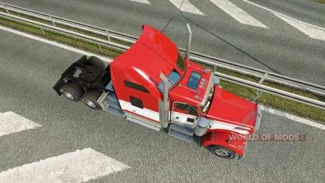 Kenworth W900 v1.2 for Euro Truck Simulator 2