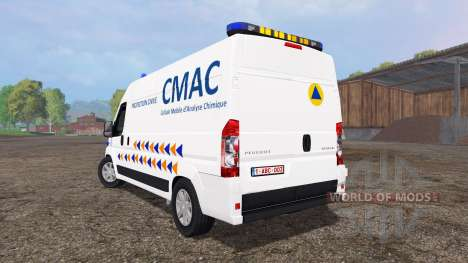 Peugeot Boxer CMAC for Farming Simulator 2015