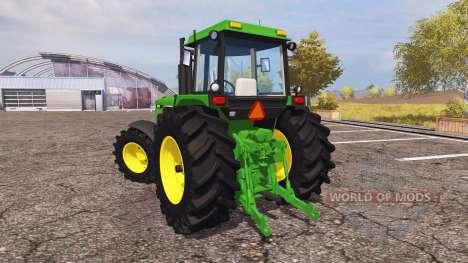 John Deere 4850 v2.0 for Farming Simulator 2013