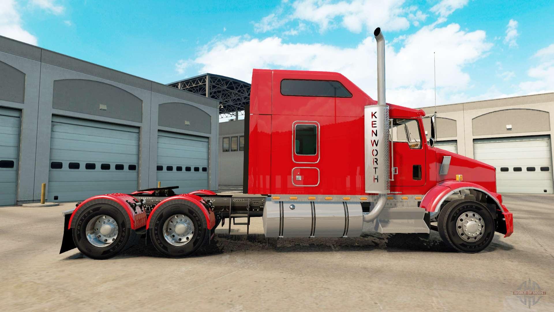 Kenworth T800 For American Truck Simulator