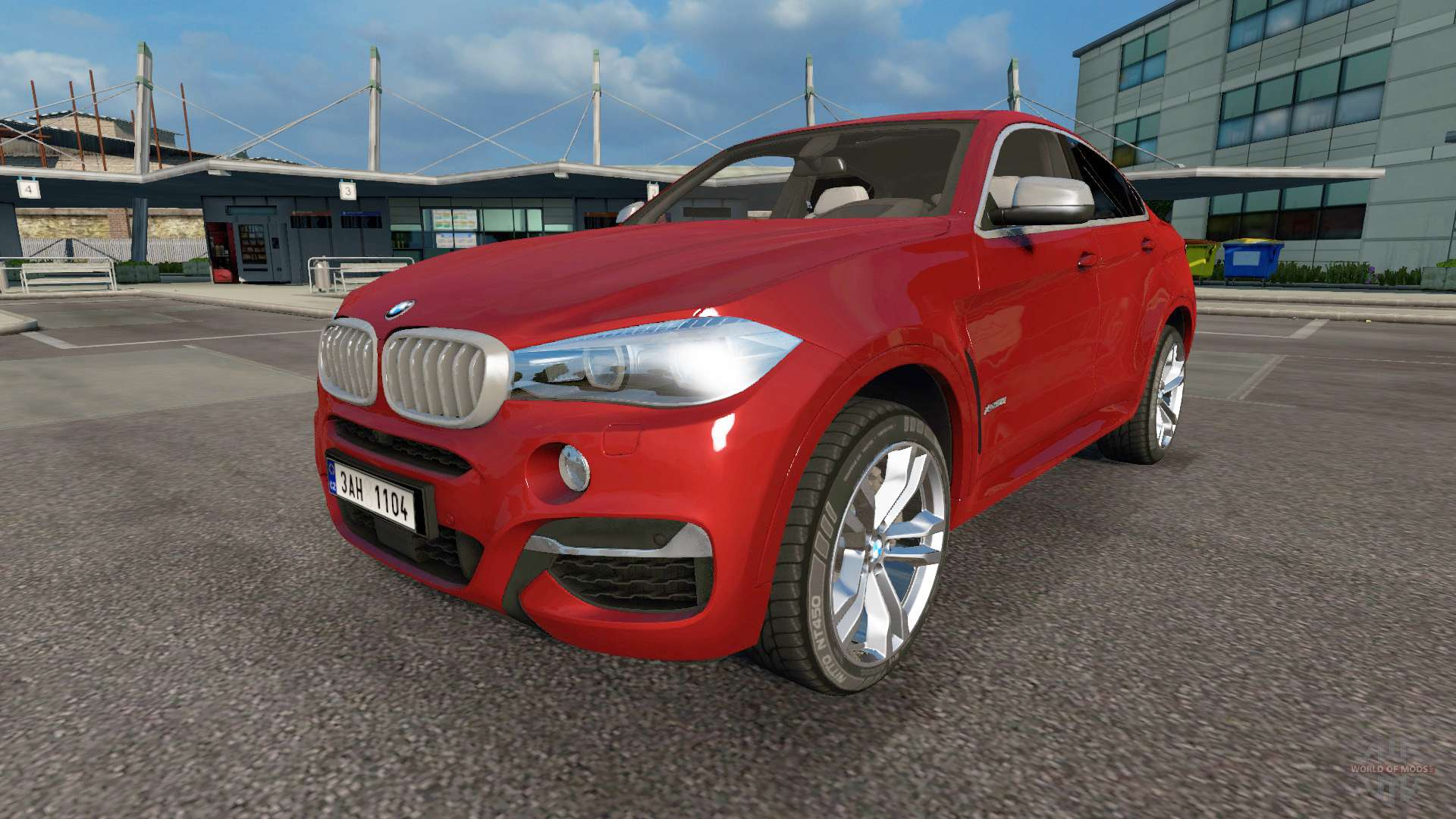 Bmw X6 M50d F16 V3 0 For Euro Truck Simulator 2