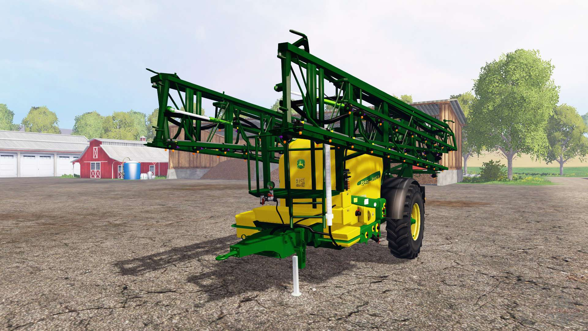 John Deere 840i for Farming Simulator 2015