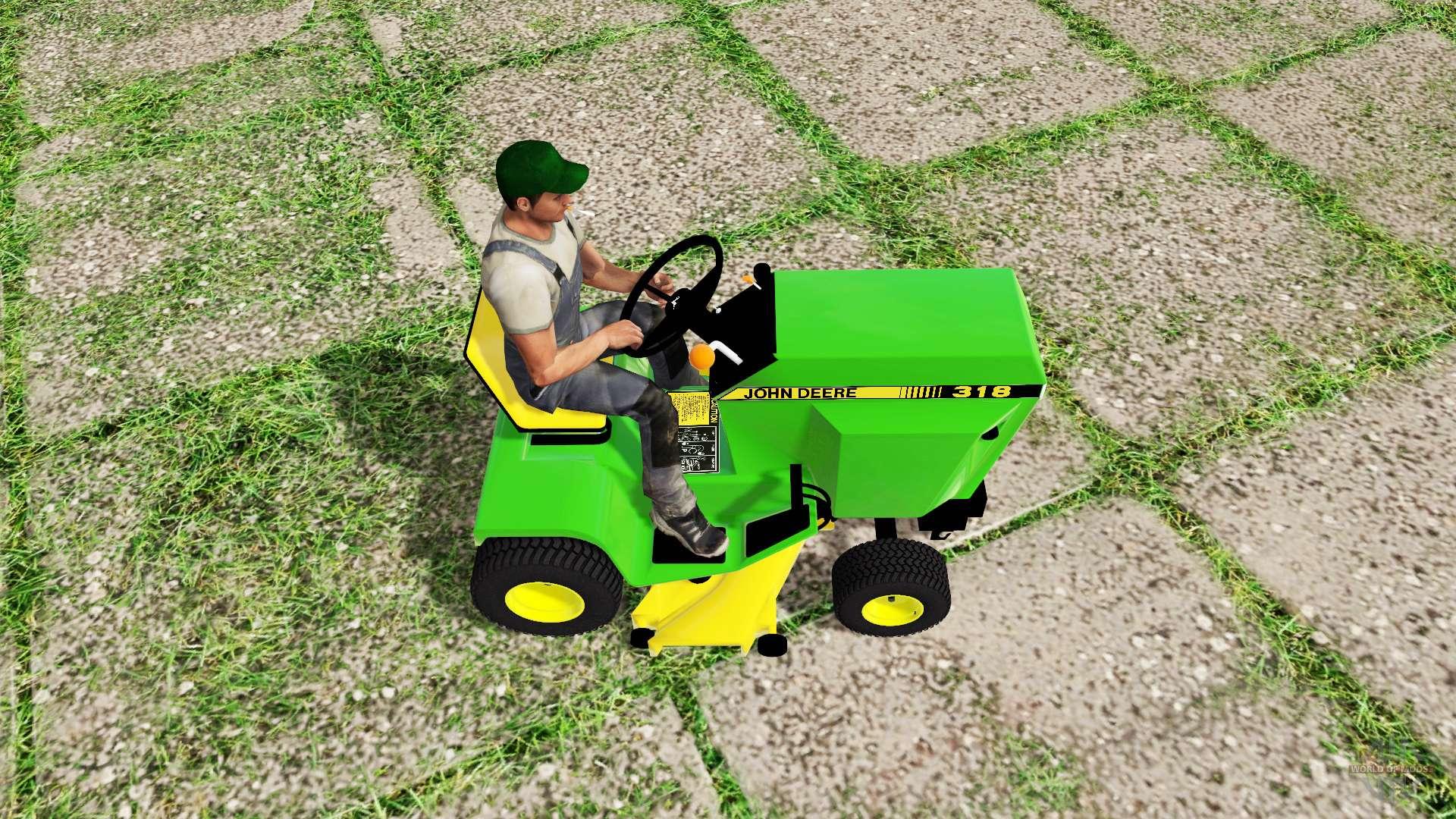 John Deere 318 Mower For Farming Simulator 2017