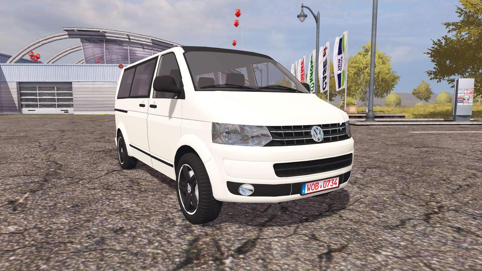 volkswagen transporter t5 v2 0 for farming simulator 2013. Black Bedroom Furniture Sets. Home Design Ideas