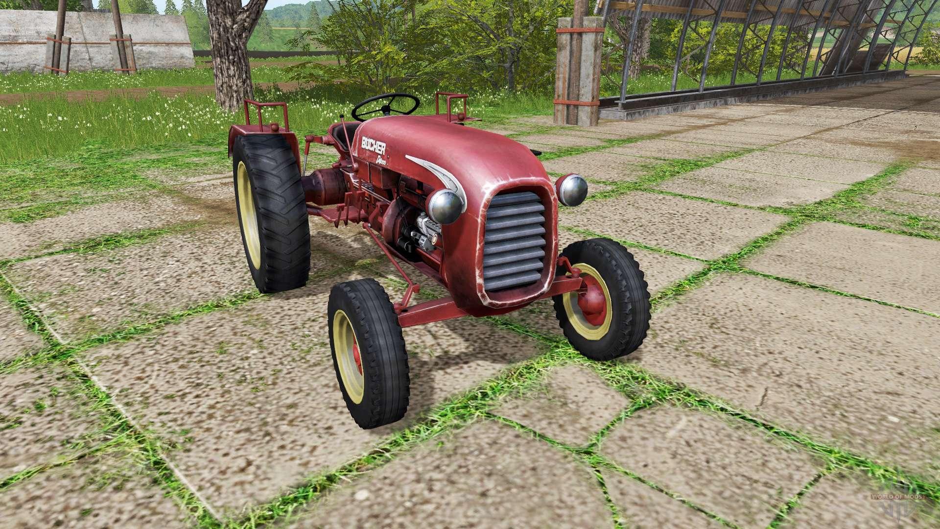 bucher d4000 for farming simulator 2017. Black Bedroom Furniture Sets. Home Design Ideas