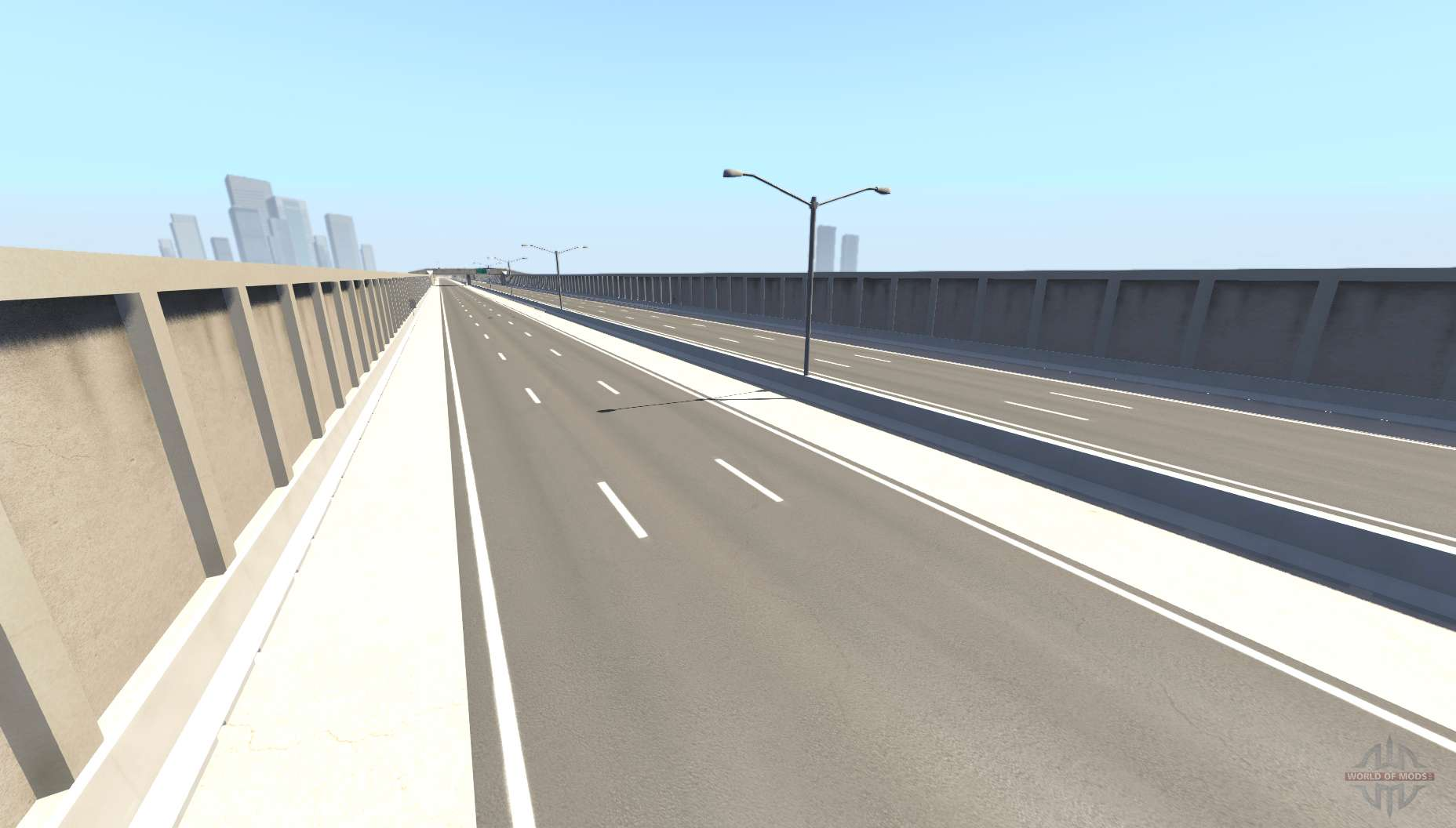 Matrix freeway v1 7 for BeamNG Drive