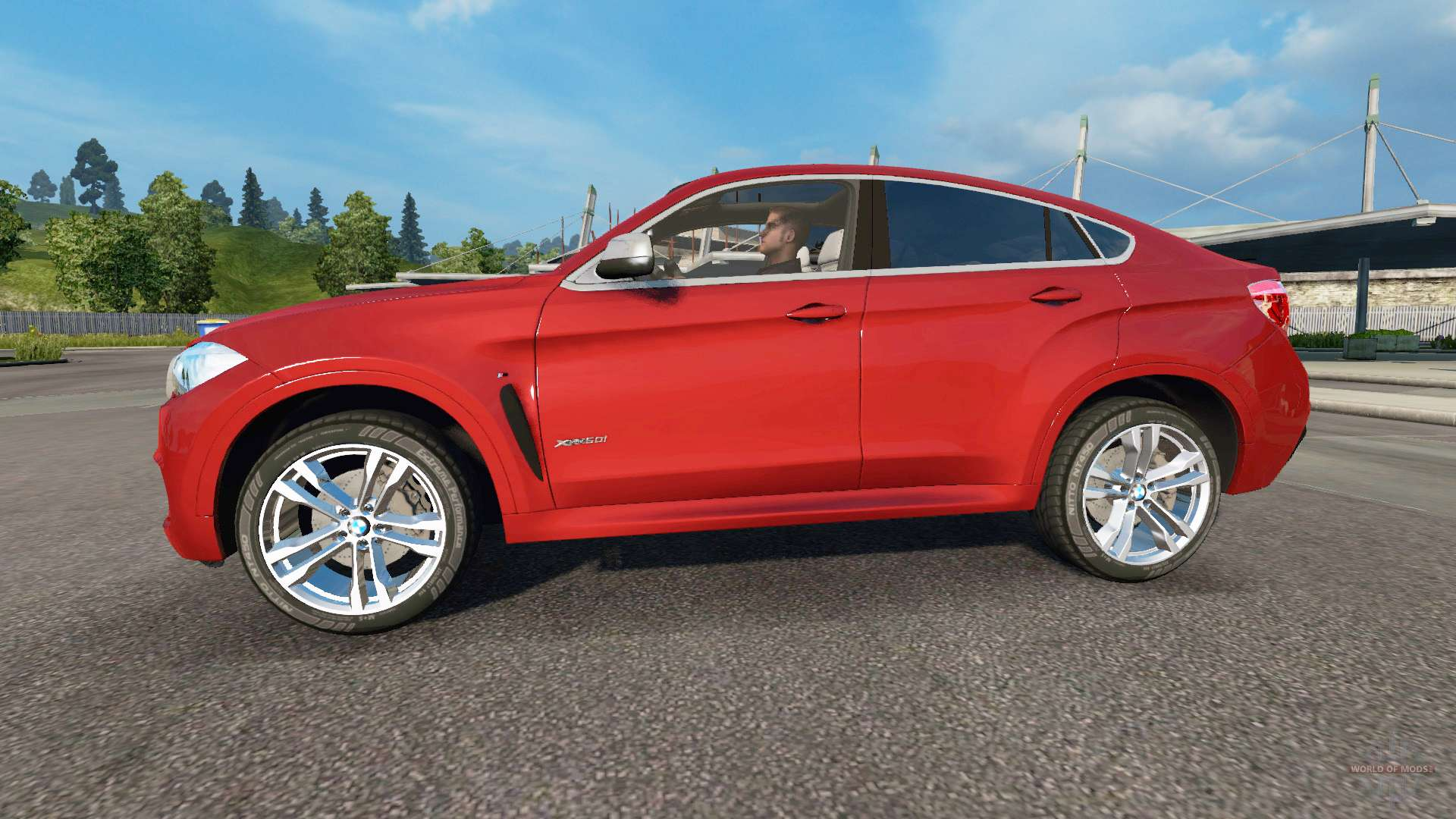 bmw x6 m50d f16 v3 0 for euro truck simulator 2. Black Bedroom Furniture Sets. Home Design Ideas
