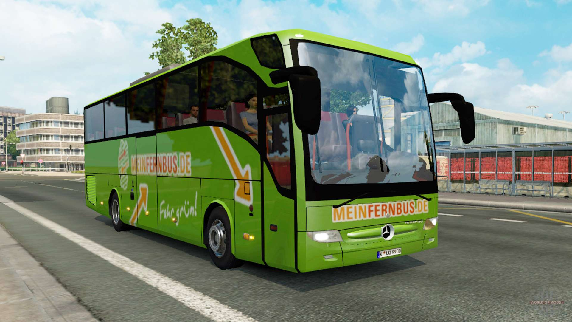 bus traffic v1 3 1 for euro truck simulator 2. Black Bedroom Furniture Sets. Home Design Ideas