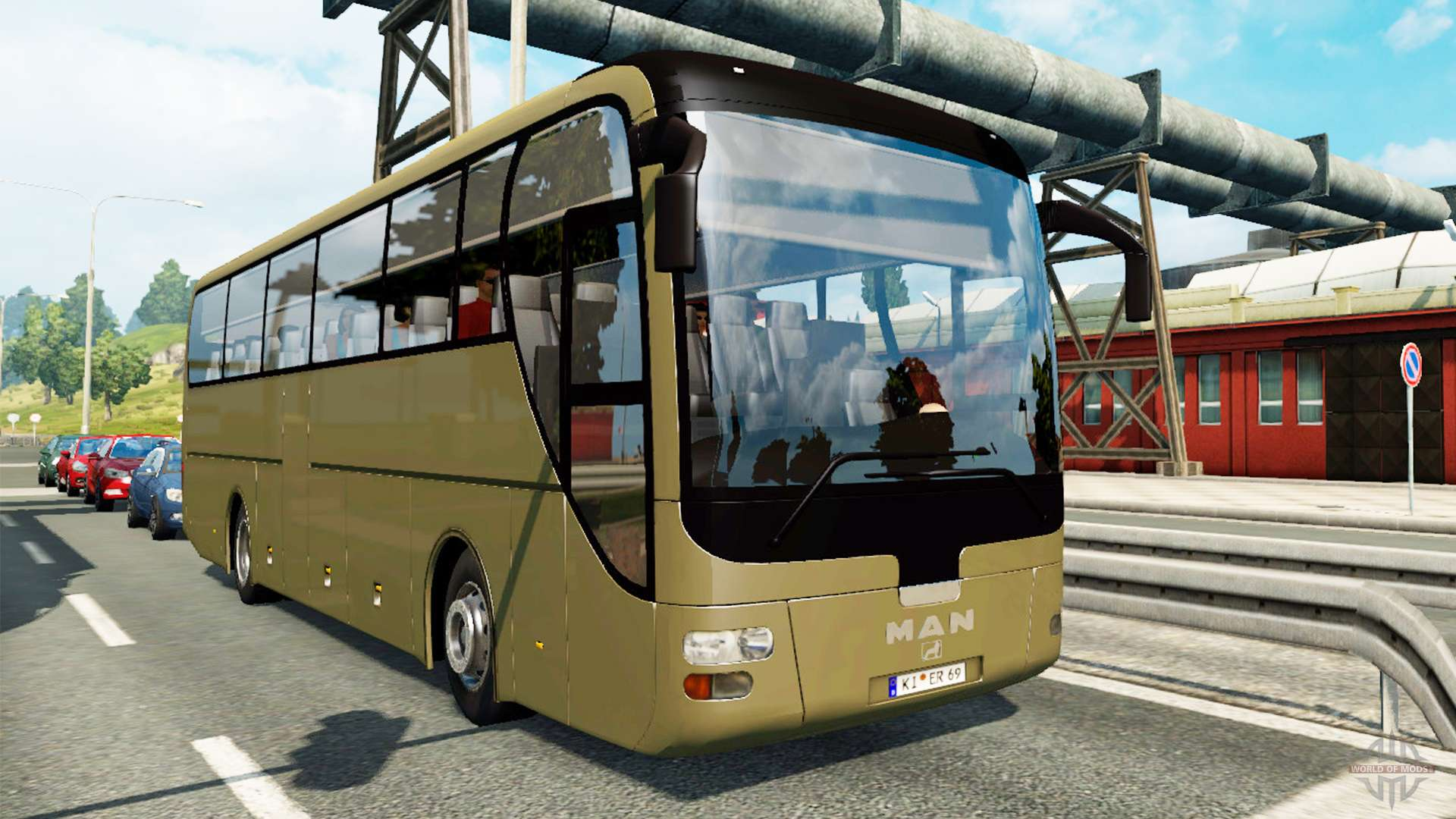 bus traffic v1 3 1 for euro truck simulator 2. Black Bedroom Furniture Sets. Home Design Ideas