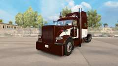 Skin Cream & Brown for the truck Peterbilt 389