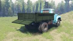 Color Green body for ZIL 130 for Spin Tires