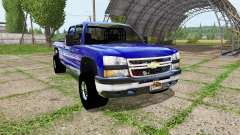 Chevrolet Silverado 3500 HD for Farming Simulator 2017