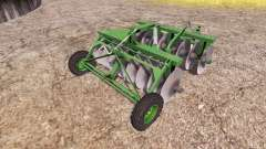 Disc harrow v2.0 for Farming Simulator 2013