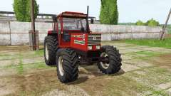 Fiatagri 140-90 Turbo DT v1.1 for Farming Simulator 2017