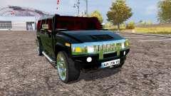 Hummer H2 v1.2 for Farming Simulator 2013