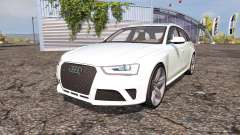 Audi RS4 Avant (B8) v2.0 for Farming Simulator 2013