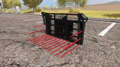 Albutt buck rake for Farming Simulator 2013