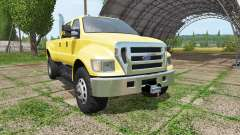 Ford F-650 Super Duty v1.1 for Farming Simulator 2017